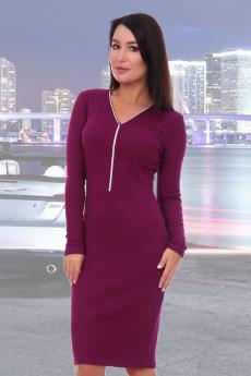 Новинка: платье сливового цвета Натали